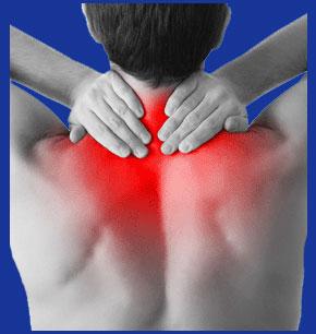 Burning neck pain