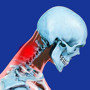 neck pain looking down