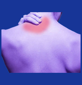 pulled neck muscle